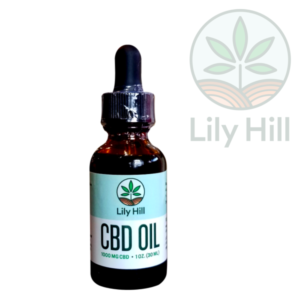 Lily Hill CBD tincture dropper 1000 mg